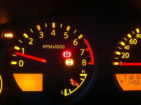 top five important warning lights in automobile system