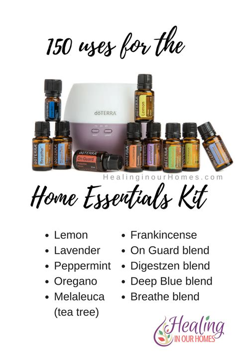 150 uses for doterra s home essentials kit healing in