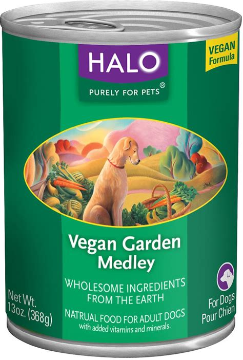 halo food reviews halo vegan garden medley canned food 13 oz of 12 chewy