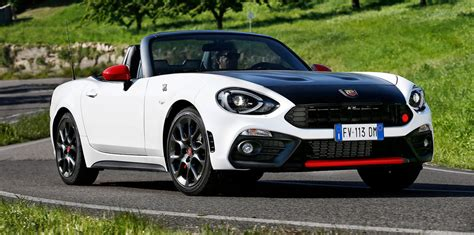 2017 abarth 124 spider pricing revealed mx 5 s turbo