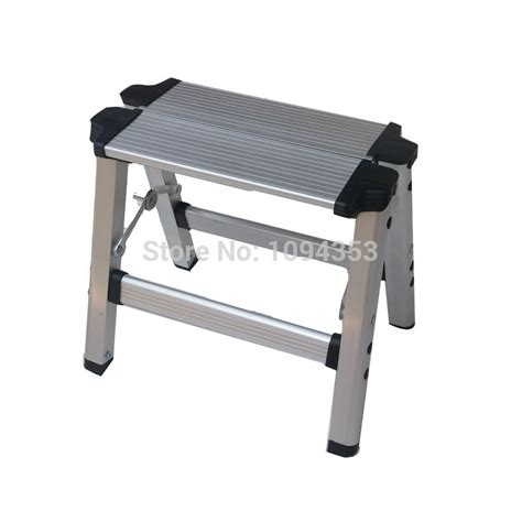 Portable Shoo Chair by Portable Folding Aluminum Stool Change Shoes Stool Bench