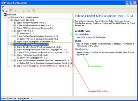 configure xp with eclipse chinese language pack for windows xp