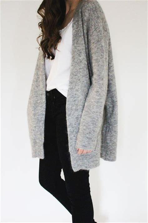 Cardigan Cardigan Grey cardigan grey light grey sleeves