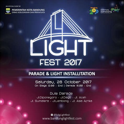 Pemutih Bandung Terbaru 2017 bandung light 2017 jadwal event info pameran