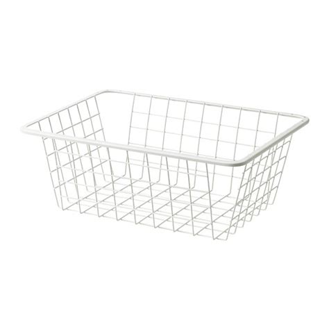 ikea wardrobe baskets komplement wire basket with pull out rail 19 5 8x13 3 4