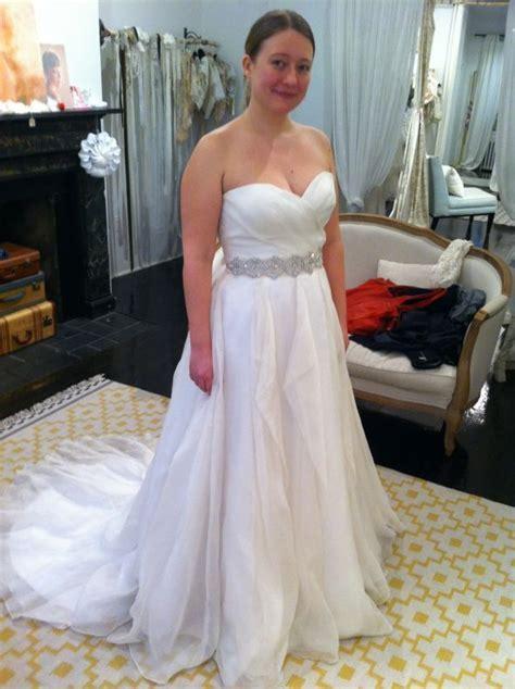 Short, curvy, brides  what kind of dress?