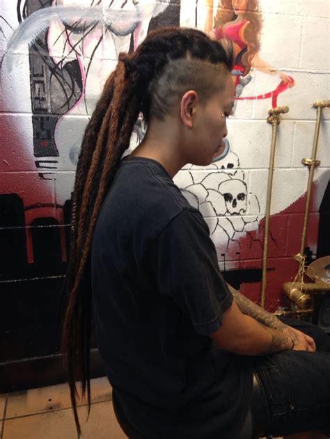 dread hawk hairdo 244 best images about dread mohawk sidecut undercut on