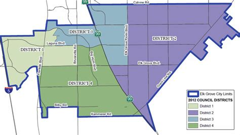 Search School District By Address Council District Map City Of Elk Grove