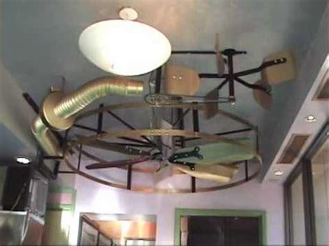 belt powered ceiling fan the grande zephyr steam ceiling fan