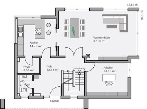 haus raumaufteilung einfamilienhaus grundriss modern m 246 bel ideen