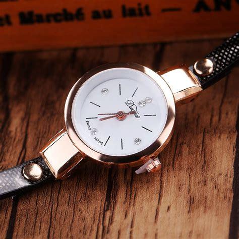 Jam Tangan Wanita Bentuk Gelang jam tangan wanita model gelang xr1297 black jakartanotebook