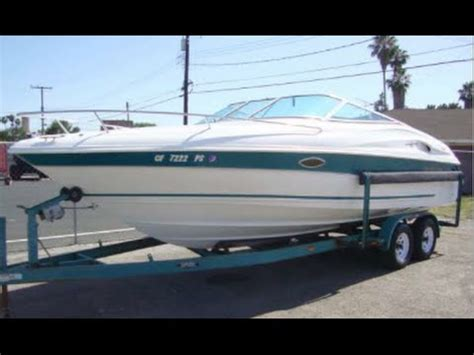 wellcraft 2400 sport cuddy 1998 model year youtube - Wellcraft Boats Value