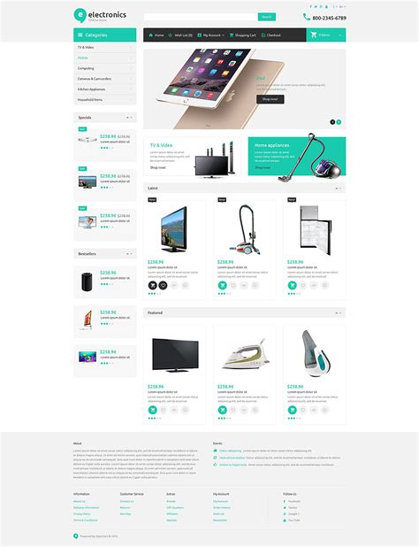 bootstrap themes integration electronica emporia electronics responsive bootstrap