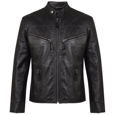 Jacket With Zipper leather jacket with zipper pockets s leather jacket