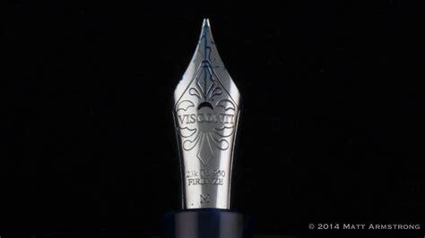 Elegance Maxy pen review visconti divina elegance maxi blue
