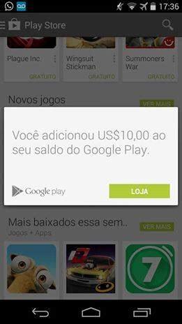 Gift Card Google Play Comprar - google play gift cards chegaram ao brasil saiba onde comprar mobile gamer tudo