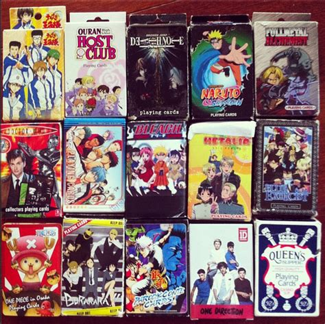 Anime Gift Card - anime playing cards by animatedpretzel on deviantart