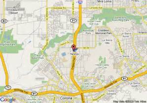 map of guesthouse international inn suites norco norco
