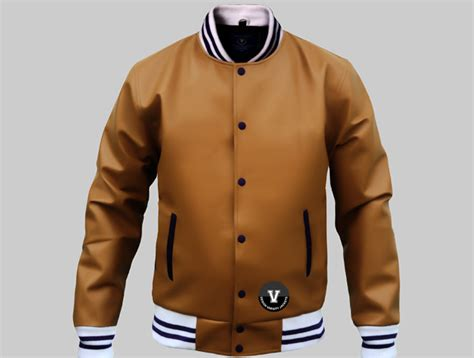 varsity jacket layout letterman jackets brown leather design or buy online