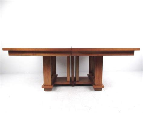 Frank Lloyd Wright Dining Table Impressive Vintage Modern Dining Table In The Style Of