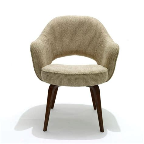Saarinen Executive Armchair Wood Legs by Saarinen Executive Arm Chair Wood Legs Modern Furniture