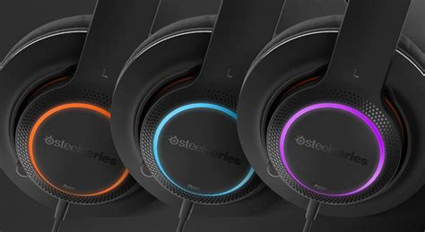 Steel Series Siberia 150 Black Usb steelseries siberia 150 gaming headset with mic rgb