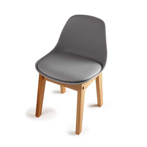 chaise enfant maison du monde chaise enfant en polypropyl 232 ne et ch 234 ne grise