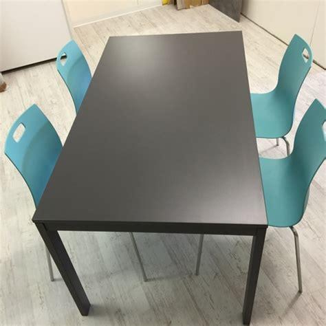 tavolo allungabile bontempi tavolo allungabile bontempi color grigio antracite