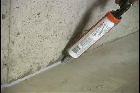 Sealing Cracks   VSI Radon Reduction Corp