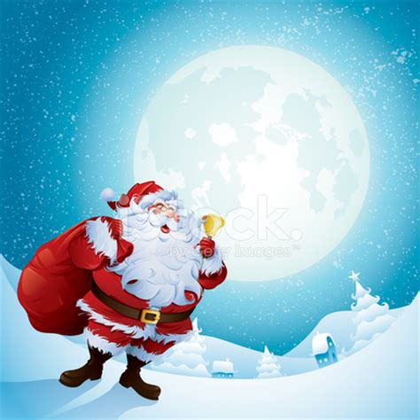 santa claus is coming to town stock vector freeimages com