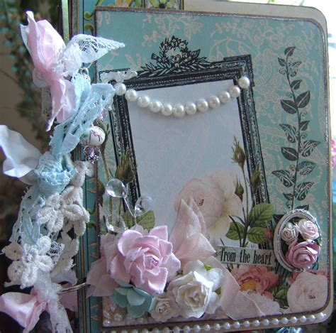 scrapn4mygirlz shabby chic chipboard album websters pages