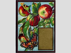 Vintage Apples with Butterfly Image! 2016 New Year Religious Clip Art