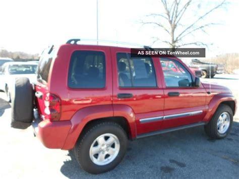 2005 Jeep Liberty Turbo Diesel 2005 Jeep Liberty Limited Diesel Suv 4 Door 2 8l Turbo