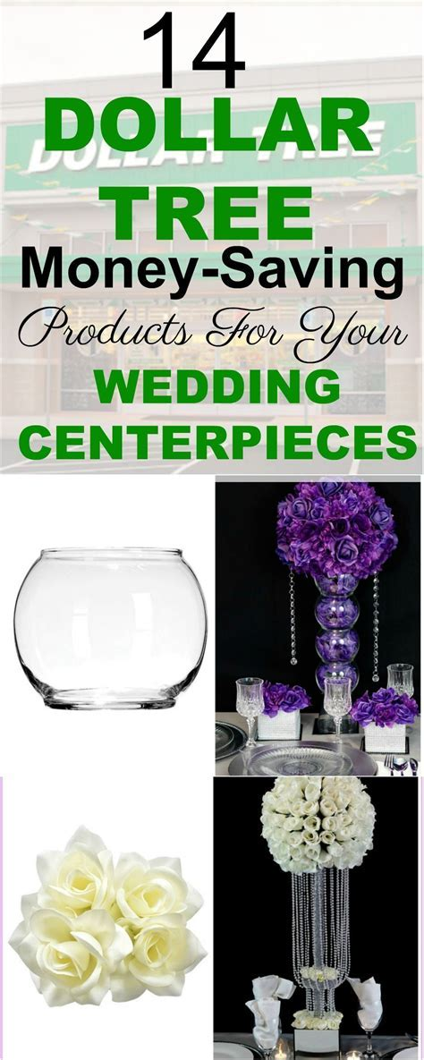 14 Dollar Tree Money Saving Products For Your Wedding