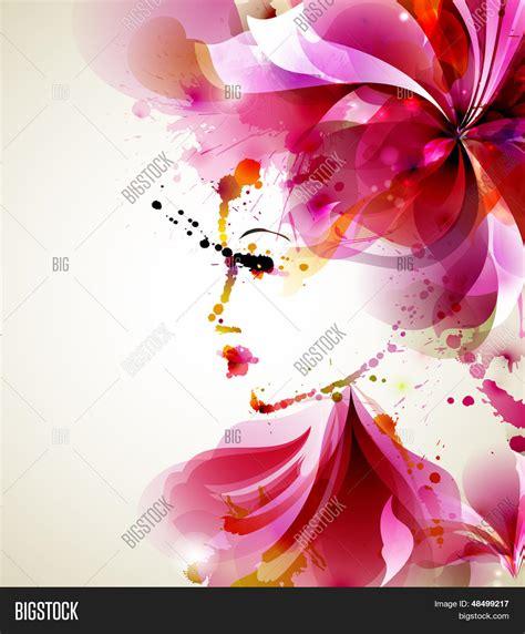 imagenes abstractas bellas vector y foto mujeres hermosas moda con elementos bigstock