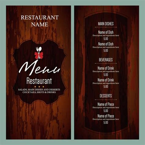 to go menu template free menu templates free beautiful printable