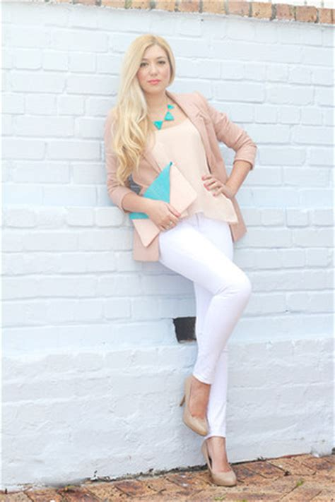 h m light pink blazer light pink h m blazer how to wear and where to buy
