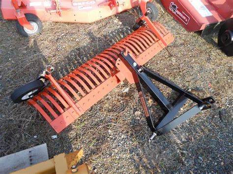 Landscape Rake Wheel Kit Tractortread New York Rake Equipment
