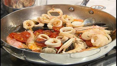 www tv buongiorno in cucina ricette tv fettuccine alla pescatora