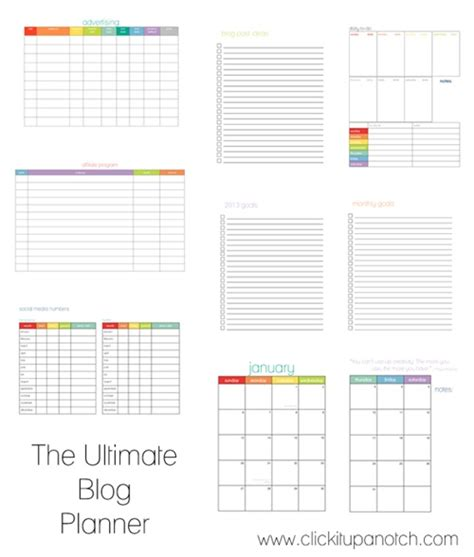 free printable blog planner 2015 12 free printable blog planners tools for 2015 simply