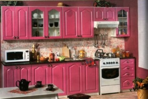 pink kitchen pink kitchen cabinets jpg 800 215 536 pixels kitchen ideas