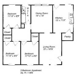 3 bedroom floor plan 3 bedroom open floor plan submited images