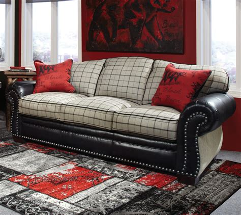 red checkered sofa mckinley plaid sofa