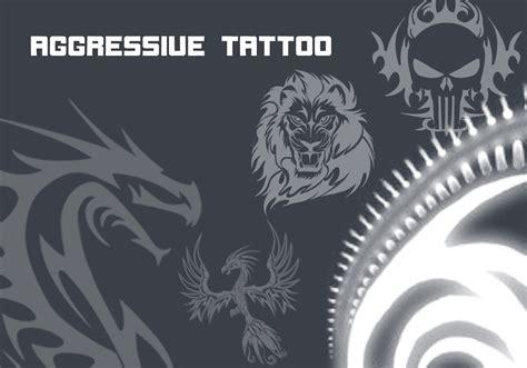 tattoo logo photoshop aggressive tattoo free photoshop brushes at brusheezy