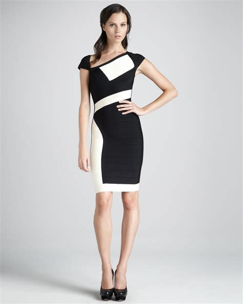 White And Black Dress attractive black and white dress to add to ur
