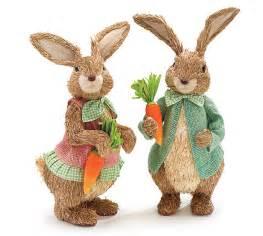 sisal easter bunny set