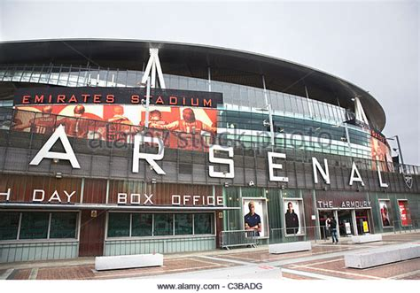 emirates uk office arsenal football ground stock photos arsenal football