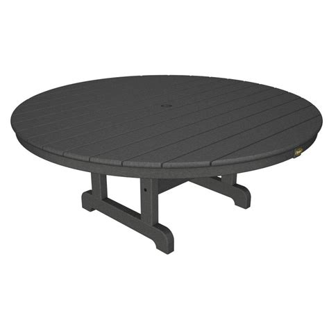 Trex Outdoor Furniture Cape Cod Stepping Stone 48 In Composite Patio Table
