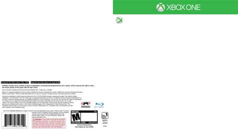 xbox one cover template xbox one template