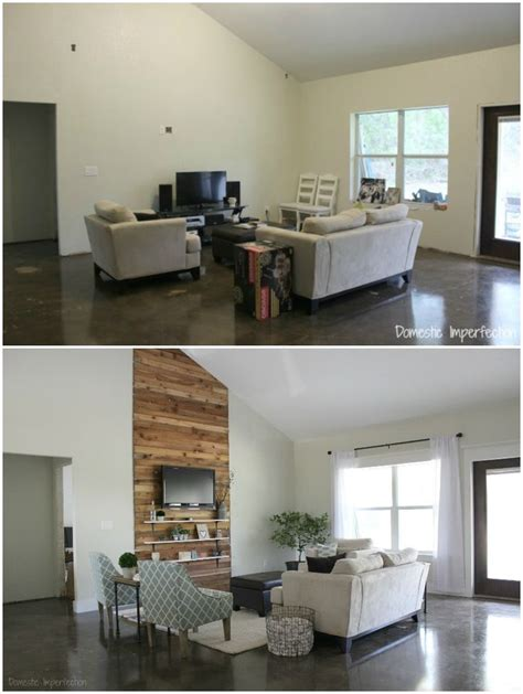 Home Interior Design Within Budget by Eric And Kelseys Budget Living Room Makeover Rooms On Wow